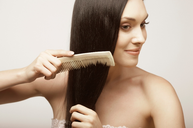 How to comb hair properly