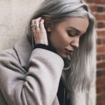 Solution for gray hair